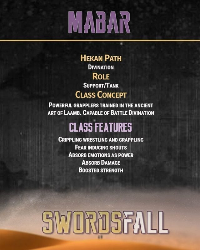 Mabar promo web - Swordsfall: The RPG - How Do Professions Work?