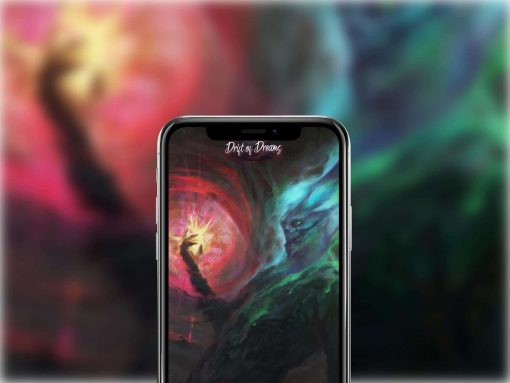 iphone x mockup in portrait position against a blur background 25030 1