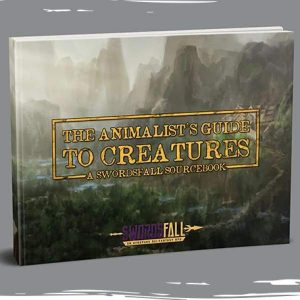 the animalists guide to creatures digital animalist book books creature swordsfall rpg 782