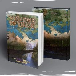 welcome to tikor the swordsfall setting and artbook physical book books hardcover rpg 360