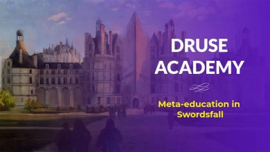 druse academy banner - Druse Academy: Meta-education in Swordsfall