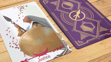 Photo of Tarot Card | Justice – Celestial Shields