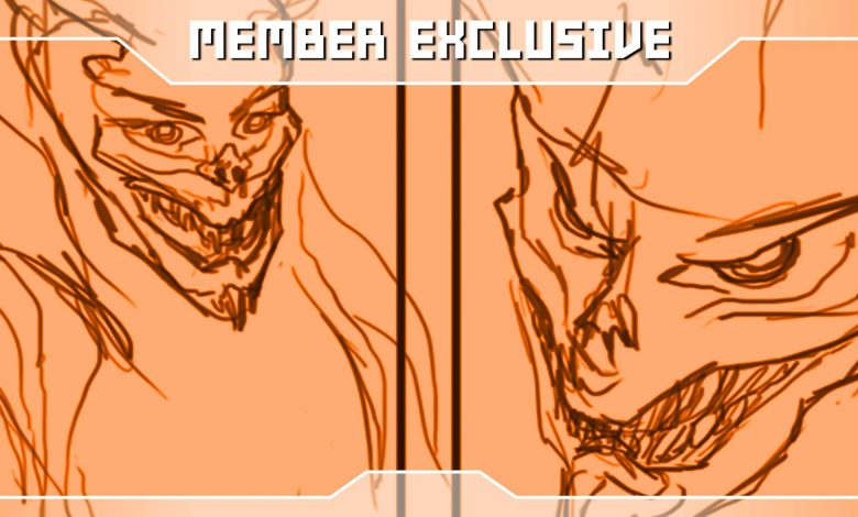 Photo of Member Exclusive | The Devil Tarot Card Concept Sketches