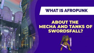 What is Afropunk about the Mechs and Tanks of Swordsfall Banner