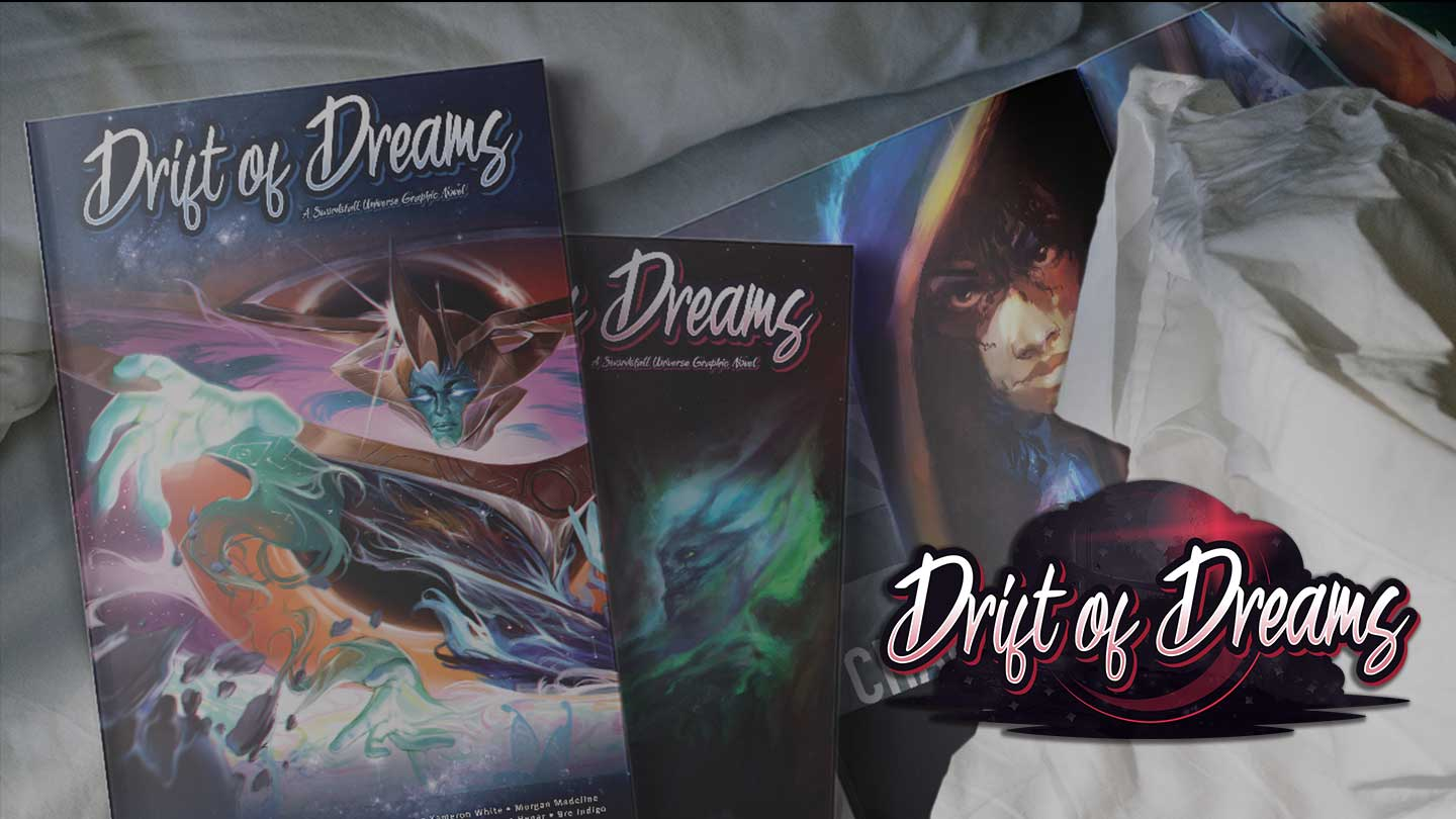 Drift of Dreams dual covers